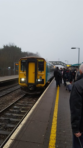 153362 stands at Pontyclun with Ebbw Vale Town service