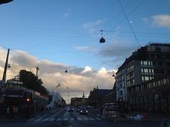 150/365 Evening sky