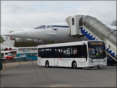 BA 8360 (SN15 LKG) (Colin H,) Tags: bus rally 200 shuttle concorde cobham british alexander dennis airways e200 dart enviro brooklands adl staf 2015 lkg ibp alexanderdennis enviro200 ipswichbuspage sn15 colinhumphrey sn15lkg