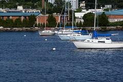 Lake Champlain (Let Ideas Compete) Tags: lake burlington sailboat marina harbor vermont waterfront champlain sailboats vt buoy lakechamplain burlingtonvt