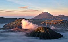 Volcanoes (travel_belle) Tags: mountain nature indonesia landscape volcano java gunung bromo d3300