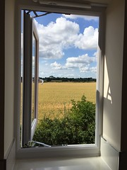 What's behind the small window? (Ugborough Exile) Tags: uk england midlands stafford iphone 2015 gnosall