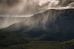 Blue mountains cold snap (benpearse) Tags: blue snow mountains cold ice rain weather landscape photography ben july australia sheets arctic valley nsw sleet megalong pearse 2015