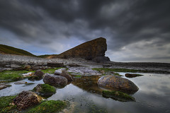 """"""" BOOM """" (Wiffsmiff23) Tags: cliff reflection sphinx reflections rocks dramatic cliffs drama epic rockpool nashpoint nashpointlighthouse welshsphinx heritagecoastlinesouthwales"""