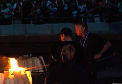 Guest Lighters Lighting the Brazier