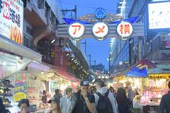 - Ameyoko marketUeno (Iyhon Chiu) Tags: street japan night japanese tokyo ueno market busy d750    ameyoko  2015