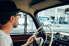 Cruising in Helsinki (a.rintala) Tags: auto summer cars car suomi finland helsinki fuji cruising mercedesbenz arabia fujifilm oldcar kesä fujix100s x100s fujifilmx100s