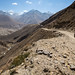 Lá embaixo, o Rio Pamir