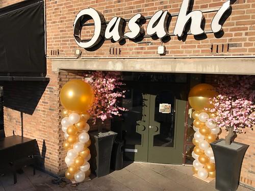 Ballonboog Breed Rond Restaurant Asahi Dordrecht