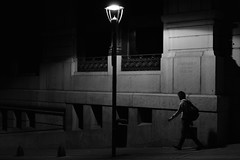 (Claudio Blanc) Tags: street streetphotography buenosaires bw bn blancoynegro blackandwhite night noche nocturna argentina
