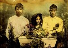 In Repose (~ Lone Wadi ~) Tags: mexico mexican hispanic latino retro 1910s unknown corpse coffin casket death funeral wake