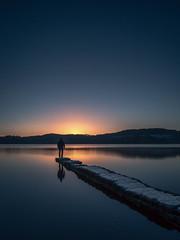 Selfie (rgcxyz35) Tags: selfie leefilters nationalpark sunrise scotland trossachs pier water littlestopper kinlochard longexposure jetty lomondtrossachs lochs lochard
