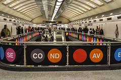 New Year, New Subway (Lojones13) Tags: subway tunnel newyork train commuters station 96street transportation city