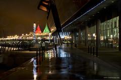 Vancouver on a rainy night (Zorro1968) Tags: vancouver waterfront night photos604 britishcolumbia canada canadaplace downtown explorebc explorecanada sails