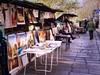 Selling by the Seine (Jim Nix / Nomadic Pursuits) Tags: jimnix nomadicpursuits travel europe france paris seine riverseine bookseller stall famous landmark cityscape macphun luminar panasonic lumix lx100
