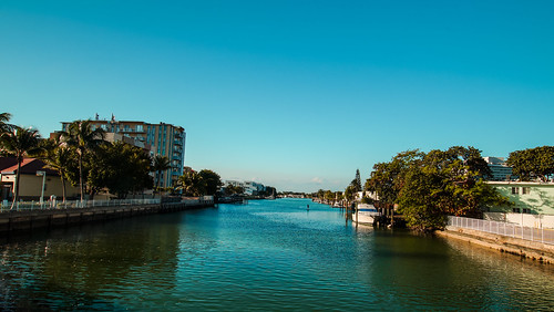 Indian Creek, Miami Beach.