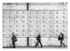 Always busy (sdc_foto) Tags: sdcfoto street streetphotography bw blackandwhite pentax pentaxart k1 london walking business busy telephone hurry
