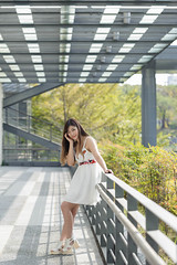 DSC_5269 (錢龍) Tags: 陳葳 d700 美術館 nikon 外拍 美胸 beauty girl sexy