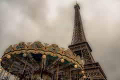 Paris Wonderland #eiffelturm #toureiffel #paris #mood #olympus #carussell #mzh #champdemars #2016 #tourist (markmeyerzurheide) Tags: fair eiffelturm toureiffel paris mood olympus carussell mzh champdemars 2016 tourist