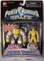 In Space (ThePowerDome) Tags: power rangers space yellow ranger