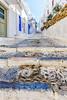 Alley (Kevin R Thornton) Tags: d90 steps travel street city architecture greece alley mykonos mediterranean nikon mikonos egeo gr