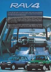 Toyota RAV4 (Hugo-90) Tags: toyota rav4 ads advertising brochure catalog chile suv awd 4x4 auto automobile car