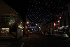 Northern Lights (mcginley2012) Tags: donegaltown christmaslights street light lightatnight mural