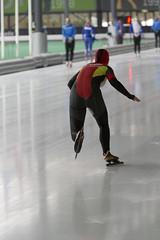 A37W5530a (rieshug 1) Tags: speedskating schaatsen eisschnelllauf skating nkjunioren nkafstanden knsb nkjuniorensprint sprint 5001000 langebaanschaaten utrecht devechtsebanen juniorenb ladies dames 500m