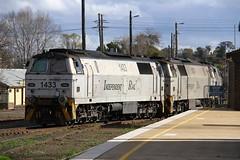 9577. 1433,1431,1432,VL358 shunting at Goulburn 29-9-16