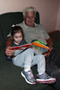 The times they are a changin Week 1/52 (MelenaMe) Tags: old young reading book sitting grandfather granddaughter child girl readers generations family love respect caring