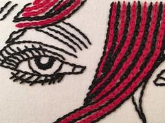 WIP Wednesday (mooshee) Tags: wip wipembroidery wipwednesday embroidered embroidery needlework needlecraft surfaceembroidery modernembroidery broderie erro
