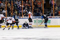 "Missouri Mavericks vs. Wichita Thunder, January 7, 2017, Silverstein Eye Centers Arena, Independence, Missouri.  Photo: John Howe / Howe Creative Photography • <a style=""font-size:0.8em;"" href=""http://www.flickr.com/photos/134016632@N02/32210097756/"" target=""_blank"">View on Flickr</a>"