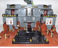 DSCF2215 (Nilbog Bricks) Tags: star wars lego moc minifigures stormtrooper base barracks