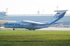 Volga-Dnepr Ilyushin Il-76 RA-76950 (Sam Pedley) Tags: ra76950 volgadnepr ilyushin il76 candid il76td volgadneprairlines ilyushinil76 il76candid eastmidlandsairport ema egnx vda4712 vda vi vladimirkokkinaki dhl volgadneprgroup cargo freight freighter cargoaircraft freightaircraft