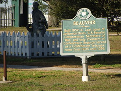 Historic Marker--Beauvoir---Biloxi, Ms. (bamaboy1941) Tags: historicmarker beauvoir biloxims mississippi