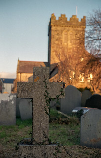 Cross, Vines and a Tower