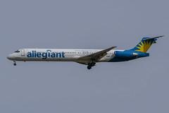 Allegiant / MD83 / N877GA / KIWA 30L (_Wouter Cooremans) Tags: kiwa gateway mesagateway mesa iwa spotting spotter avgeek aviation airplanespotting allegiant md83 n877ga 30l