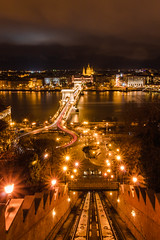 Nightscape of Buda Castle (Woo's Arcanery) Tags: budapest budacastle nightscape nightscapes longexposure landscape nikon