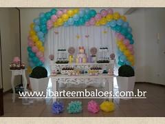 Decoração Passarinho (Decorações JB) Tags: decoração passarinhos folhagem festa passarinho mesa decorada com aniversário decorado chá de bebe dupla enfeites floresta bolo painel tecido acortinado para revelação