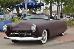 Mooneyes X-Mas Party 2016 (USautos98) Tags: 1949 ford shoebox convertible hotrod streetrod kustom rockabilly