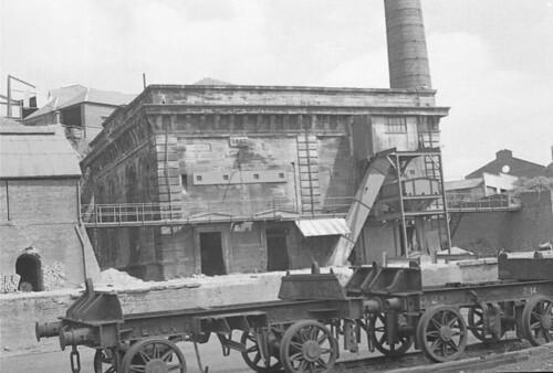 Dunaskin ironworks, temple of industry Waterside Dallmellington Ayrshire NCB