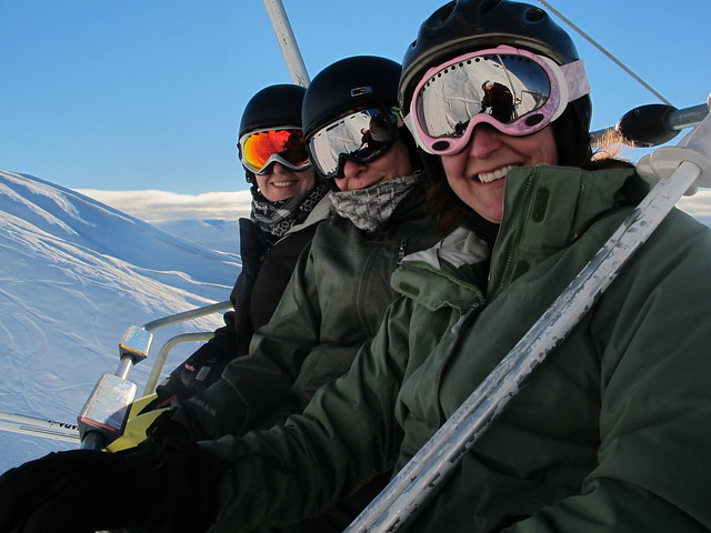 Saddle Basin chair ride