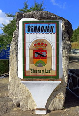 The tiled village sign, Benoajn, Mlaga, Spain (Hunky Punk) Tags: espaa andaluca spain villages andalusia towns espagne spagna espaola hunkypunk spencermeans