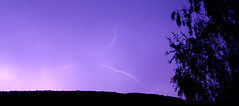 Lightning 2015-2 (simoncbrown1) Tags: sky storm tree night flash fork lightning lightening