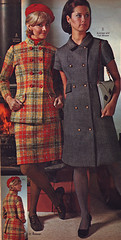 Pennys 68 fw suit dress (jsbuttons) Tags: winter fall clothing mod 60s buttons womens clothes catalog 1968 sixties pennys 68 jcpenny vintagefashion