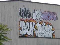 Lobs, Bek, Hyze, Ase (Randall 667) Tags: street urban art island graffiti exploring providence rhode bek ase hyze lobs
