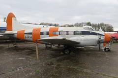 D-IFSB de Havilland Aircraft Museum London Colney 19 April 2015 (ACW367) Tags: dehavilland londoncolney dh104 difsb dehavillandaircraftmuseum doveseries6