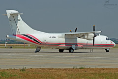 LY-ETM (airliners.sk, o.z.) Tags: cargo pm bts atr atr42 lzib aviavilsa lyetm airlinerssk
