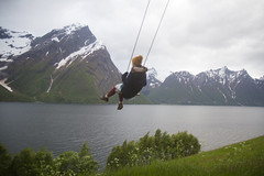 RelaxedPace22903_7D7703 (relaxedpace.com) Tags: norway 7d ropeswing 2015 mikehedge trandal christiangaard sophiewilkie