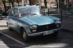 Peugeot 204 (xwattez) Tags: street old france car french automobile parking voiture transports toulouse rue 204 peugeot ancienne 2015 française véhicule
